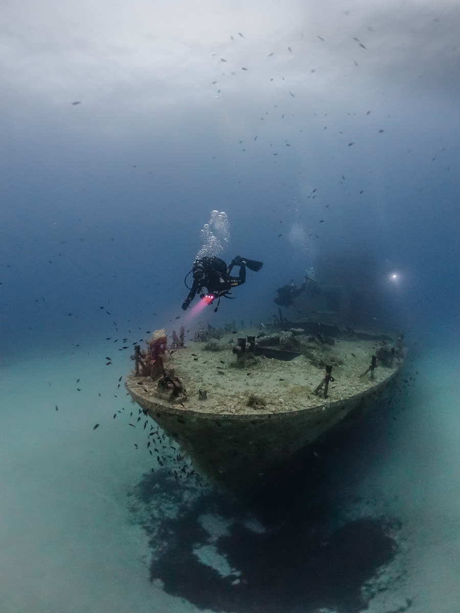 basic wreck diving gozo and malta