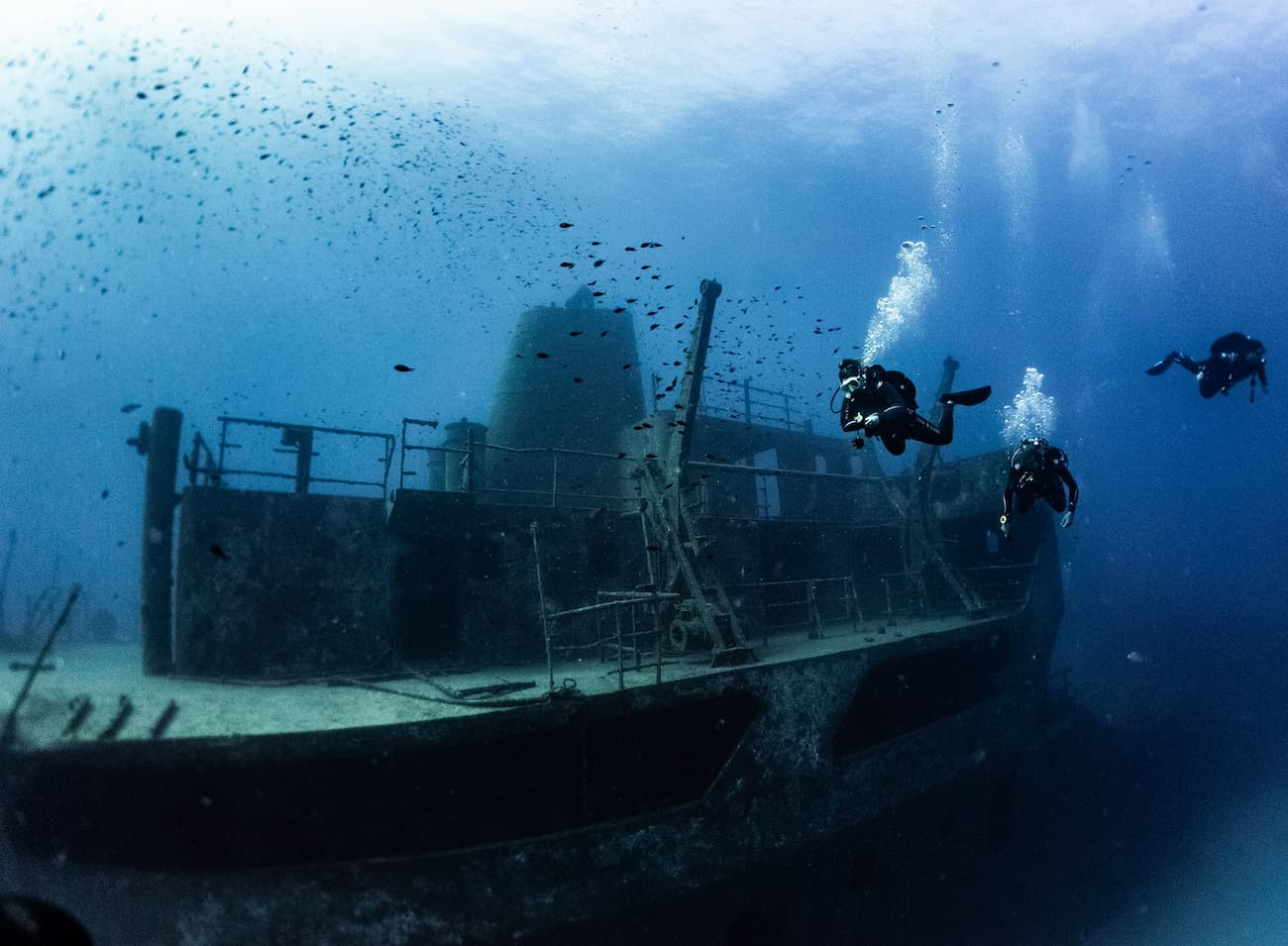 Wreck Diving Malta and Gozo